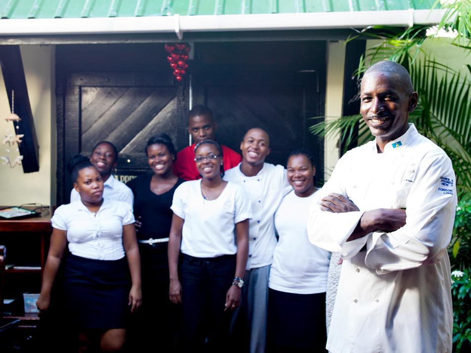 Orlando S Restaurant Bar Saint Lucia